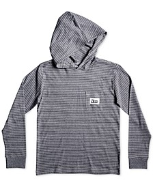 Big Boys Striped Cotton Hoodie