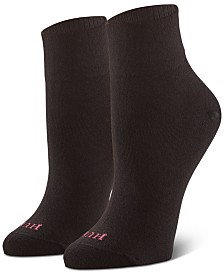 HUE® Women's 3-Pk. Body Ankle Socks