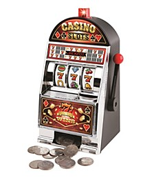 Hammer and Axe Coin Bank Novelty Slot Machine