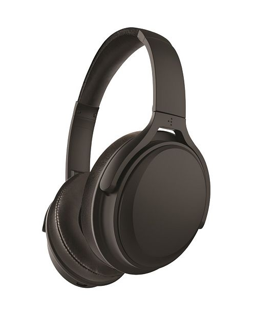 Polaroid Active Noise-Cancelling Bluetooth Headphones