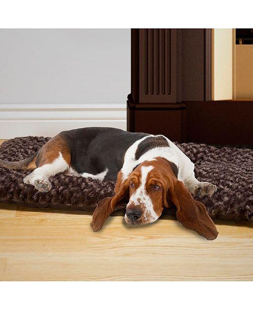 PetMaker Large Cushion Pillow Pet Bed - Chocolate