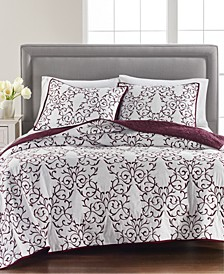 CLOSEOUT! Cotton Chateau Full/Queen Quilt, Created for Macy's