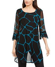 Printed Sheer Tunic, Created for Macy's