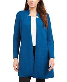 Alfani Open-Front Longline Jacket, Created for Macy's