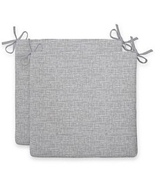 EF Home Decor Indoor/Outdoor Seat Cushion Squared, 2 Pack