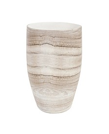 Desert Sands Tapered Ceramic Vase, Medium