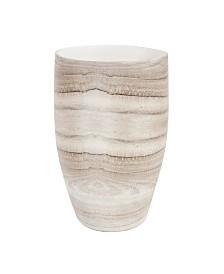 Desert Sands Tapered Ceramic Vase, Medium
