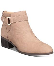 Putneyy Memory Foam Block-Heel Booties, Created for Macy's