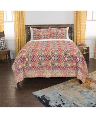Riztex USA Serendipity King 3 Piece Quilt Set