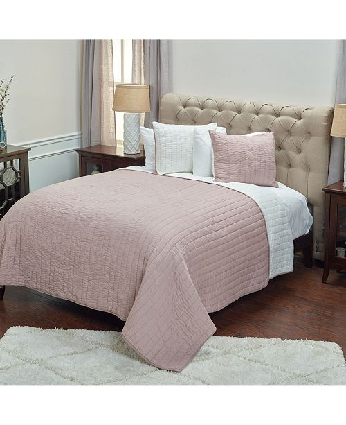 Rizzy Home Riztex USA Gracie Blossom Queen Quilt