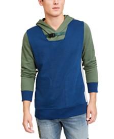 American Rag Men's Colorblocked Belted Hoodie, Created For Macy's