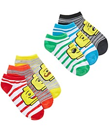 Big Boys 6-Pk. Lego Classic Icon Low-Cut Socks