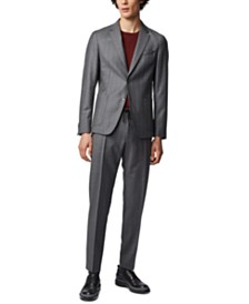 BOSS Men's Banks4 Slim-Fit Pinstripe Trousers