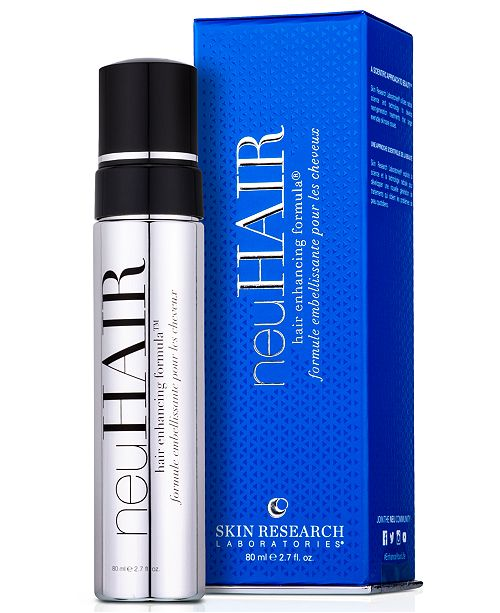 Skin Research Laboratories neuHAIR hair enhancing formula, 2.7 oz.