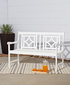 Bradley Outdoor Patio Diamond Bench