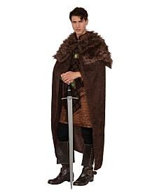 BuySeasons Men's Brown King Cape Adult Costume