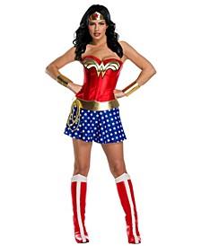 Women's Wonder Woman Plus Size Deluxe Adult Costume