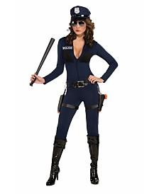 BuySeasons Women's Traffic Stoppin' Cop Adult Costume