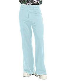 BuySeasons Men's Disco Pants Powder Blue
