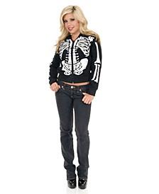 Women's Skeleton Sweatshirt Hoodie