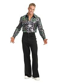 Men's Disco Pants Black