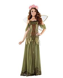 Women's Rose Fairy Princess Adult Costume