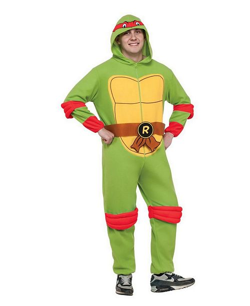 BuySeasons Men's Tent Michelangelo Hooded Adult Jumpsuit Costume