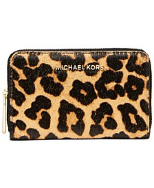 Michael Michael Kors Jet Set Jet Set Small Zip-Around Card Case