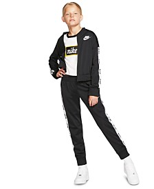 Nike Big Girls 2-Pc. Sportswear Jacket & Pants Tracksuit