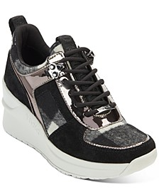 Leo Wedge Sneakers, Created For Macy's
