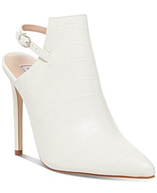 Women's Daily Slingback Leather Shooties