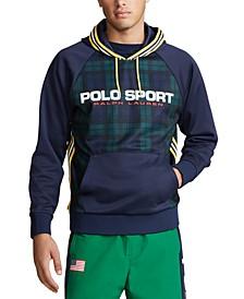 Men's Big & Tall Double-Knit Hooded Logo Sweatshirt