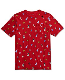 Big Boys Jersey Cotton T-Shirt, Created For Macy's