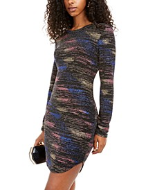 Juniors' Glitter Bodycon Dress