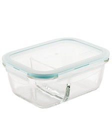 Purely Better Glass 25-Oz. Divided Rectangular Food Storage Container