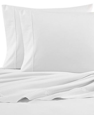 Solid Cotton Percale Twin Extra Long Sheet Set