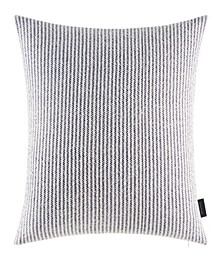 """Jeans Co Eastbury Stripe 18"""" Square Throw Pillow"""