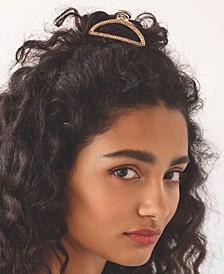 Crystal Sparkle Half-Circle Hair Claw