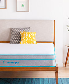 "Linenspa Signature 10"" Alwayscool Memory Foam Hybrid Mattress Collection"
