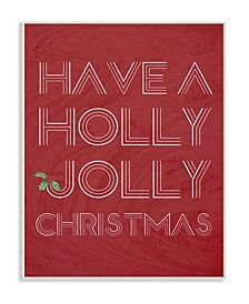 Holly Jolly Christmas Wall Art Collection