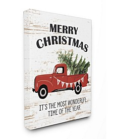 Christmas Most Wonderful Time Vintage-Inspired Truck Art Collection