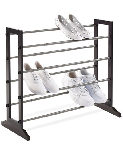 Neatfreak Shoe Rack, 4 Tier Wood