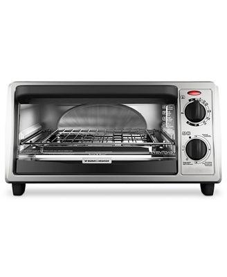 Black Amp Decker TO1322SBD Toaster Oven 4 Slice EvenToast