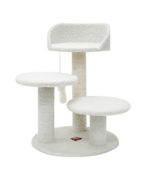 "Majestic Pet Products 27"" Casita Cat Furniture Scratcher Pet Activity Tree"