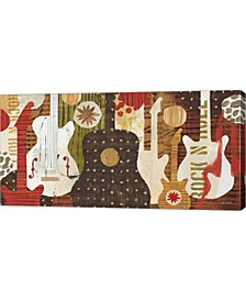 """Rock and Roll Fantasy by Mo Mullan Canvas Art, 39.75"""" x 20"""""""