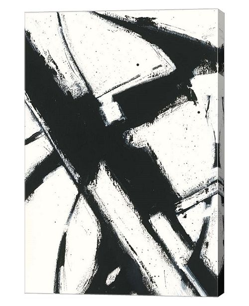 """Metaverse Expression Abstract I White by Shirley Novak Canvas Art, 24.25"""" x 36"""""""