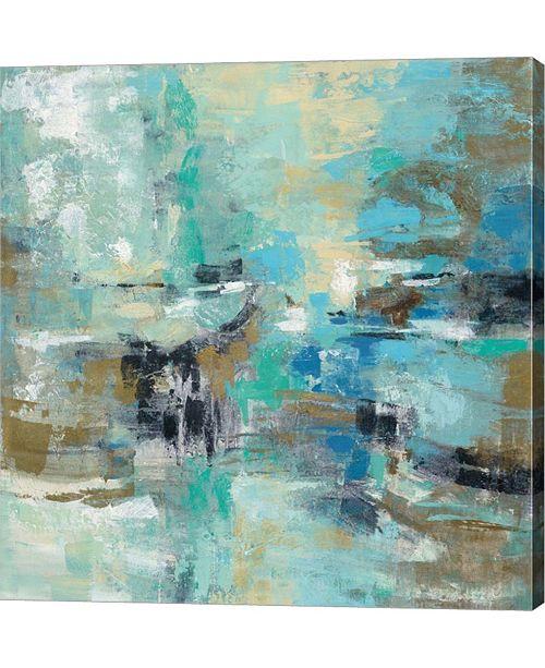"Metaverse Fjord Reflections by Silvia Vassileva Canvas Art, 27"" x 28"""