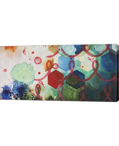 """Metaverse Playing Smart II by Heather Robinson Canvas Art, 32"""" x 16"""""""