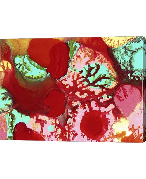 """Metaverse Flowing with Love by Amy Vangsgard Canvas Art, 26.5"""" x 20"""""""