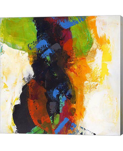 "Metaverse Abstract Design by Lynn Canvas Art, 24"" x 24"""